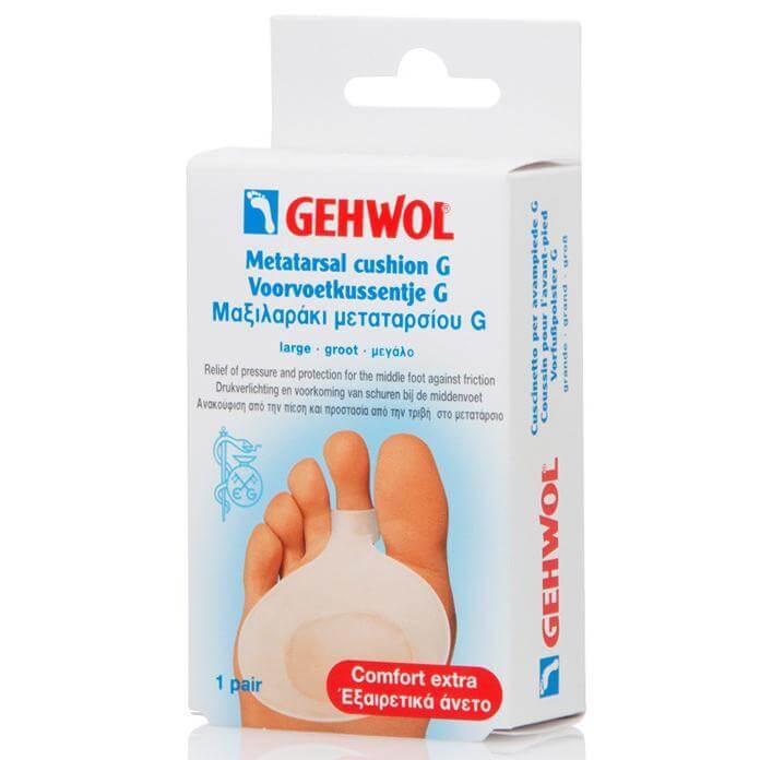 Gehwol Μαξιλαράκι Μεταταρσίου Πολυμερούς Γέλης G 1 ζευγάρι – μεγάλο (L)