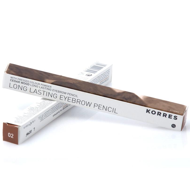 Korres Eyebrow Μολύβι Φρυδιών 1.29ml – ΜΕΣΑΙΑ ΑΠΟΧΡΩΣΗ