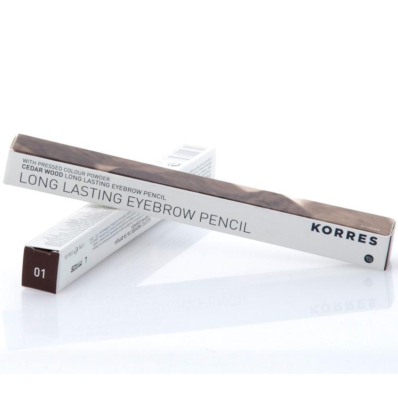 Korres Eyebrow Μολύβι Φρυδιών 1.29ml – ΣΚΟΥΡΑ ΑΠΟΧΡΩΣΗ