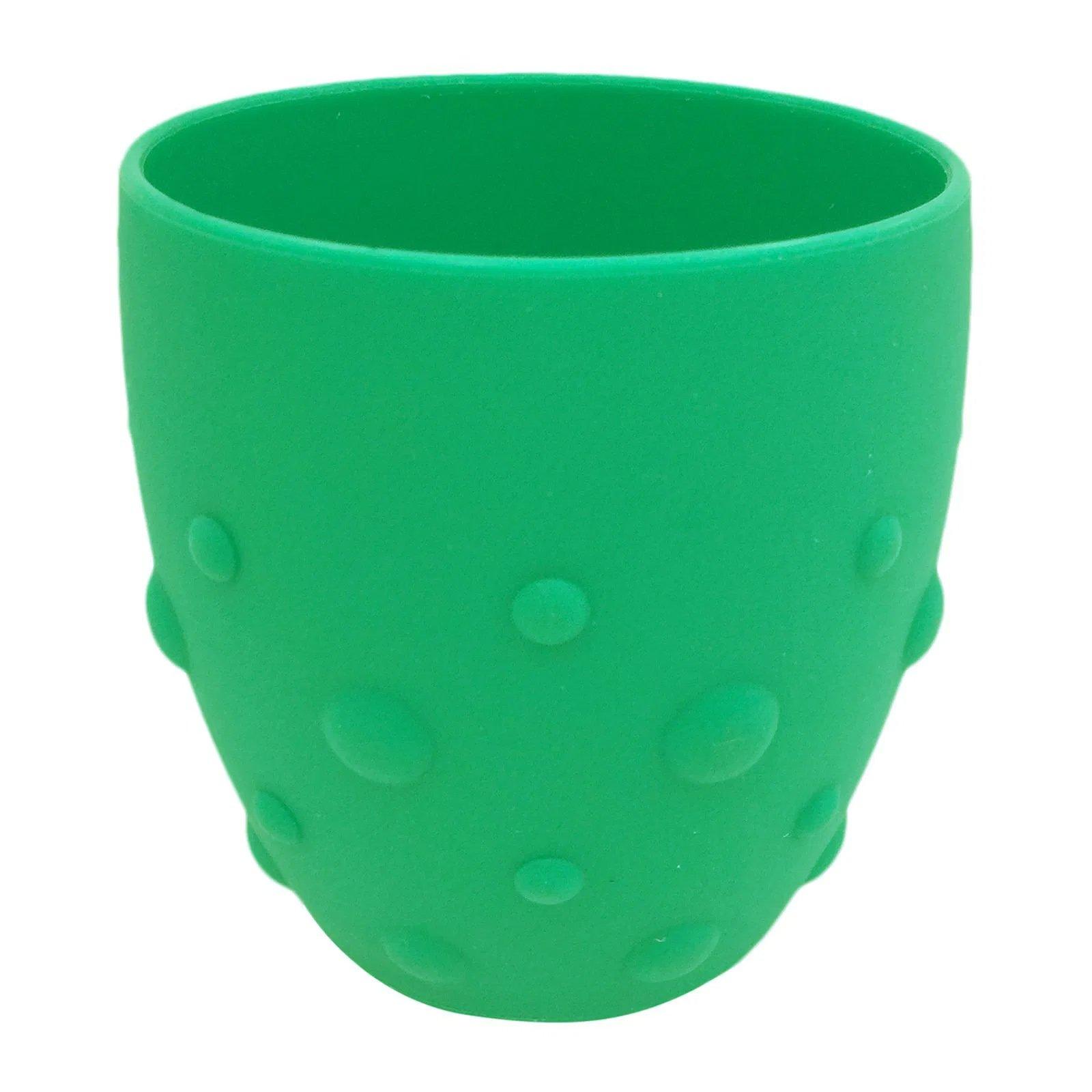 Marcus & Marcus Training Cup Εκπαιδευτικό Ποτήρι Σιλικόνης 24m+ 1 Τεμάχιο – πράσινο