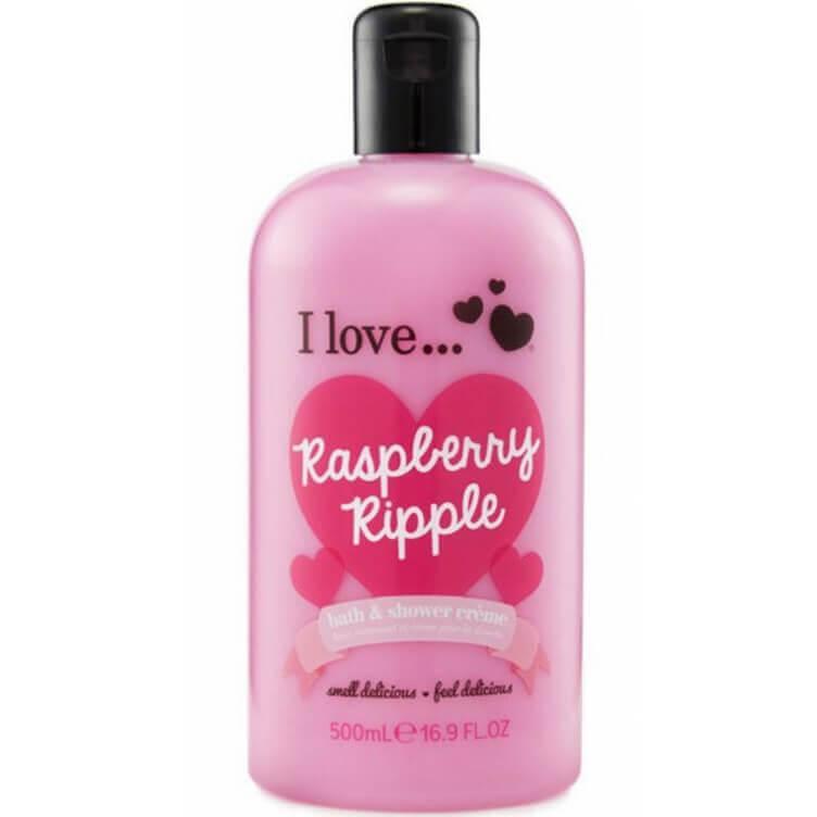 I love… Bath & Shower Creme Ενυδατικό Αφρόλουτρο 500ml – Raspberry Ripple