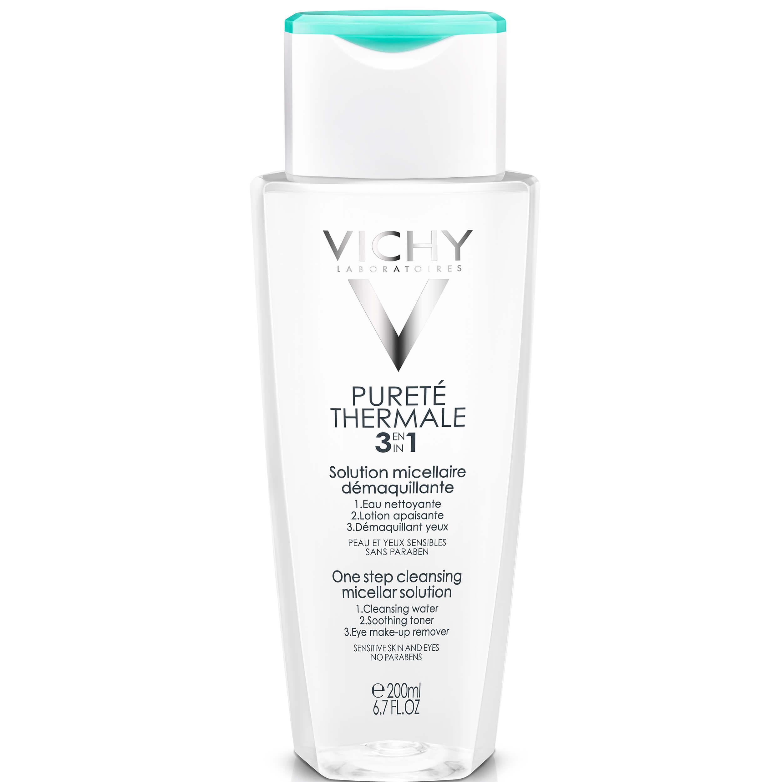 Vichy Purete Thermale Λοσιόν Καθαρισμού Προσώπου Και Ματιών 3 Σε 1 Για Ευαίσθητη Επιδερμίδα – 200ml