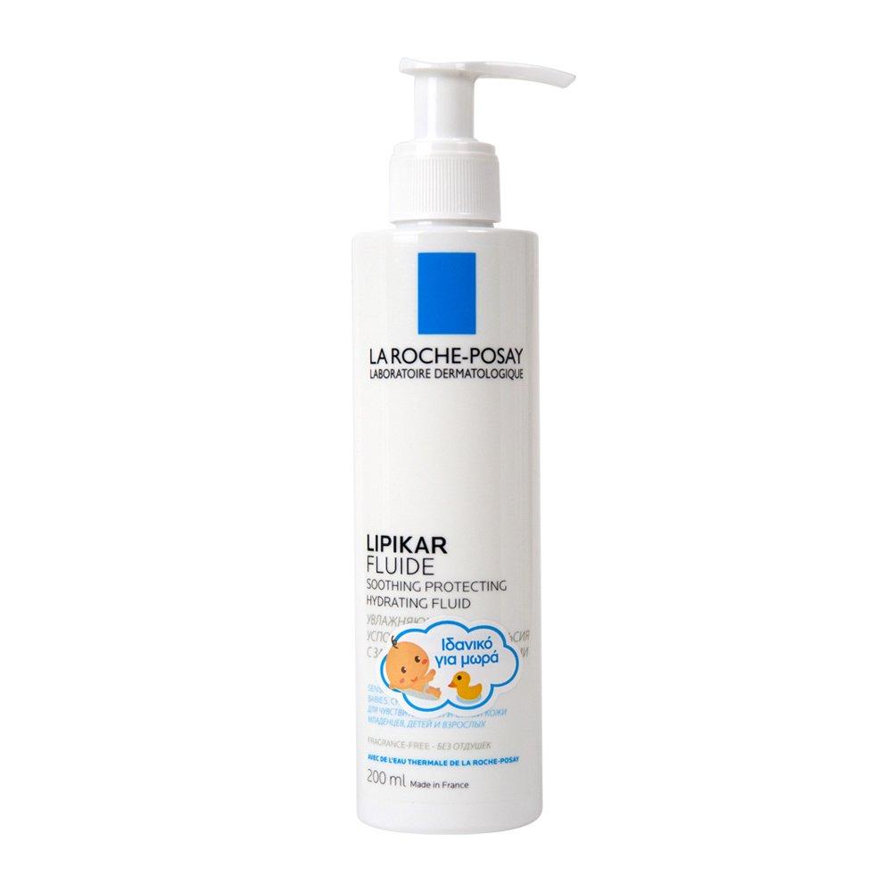 La Roche-Posay Lipikar Fluide Ενυδατικό Γαλάκτωμα με Καταπραϋντική & Προστατευτική Δράση – 200ml