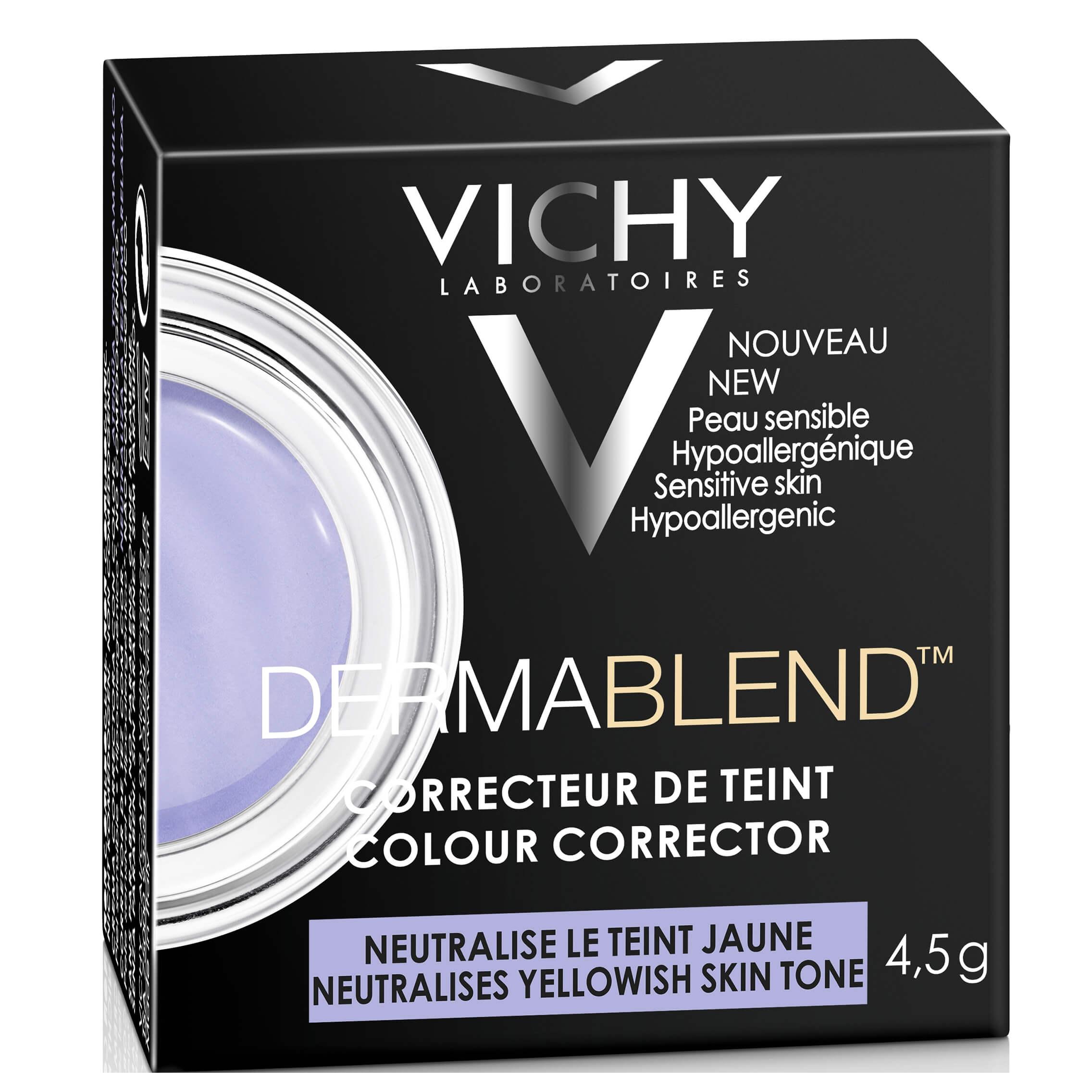 Vichy Dermablend Colour Corrector Εξουδετερώνει τις Ατέλειες στο Χρώμα του Δέρματος και Δημιουργεί μια Ομοιόμορφη Όψη 4,5g – Purple
