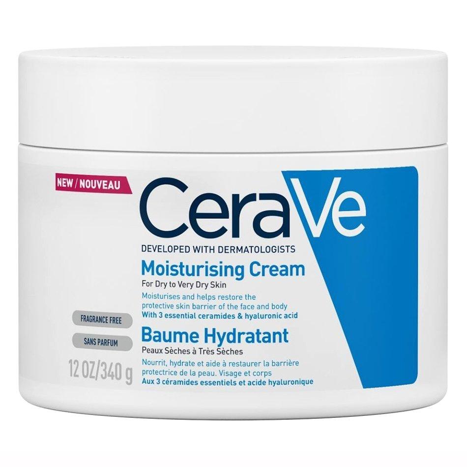 CeraVe Moisturising Cream Ενυδατική Κρέμα – Βάλσαμο Προσώπου & Σώματος για Ξηρή – Πολύ Ξηρή Επιδερμίδα – 340gr