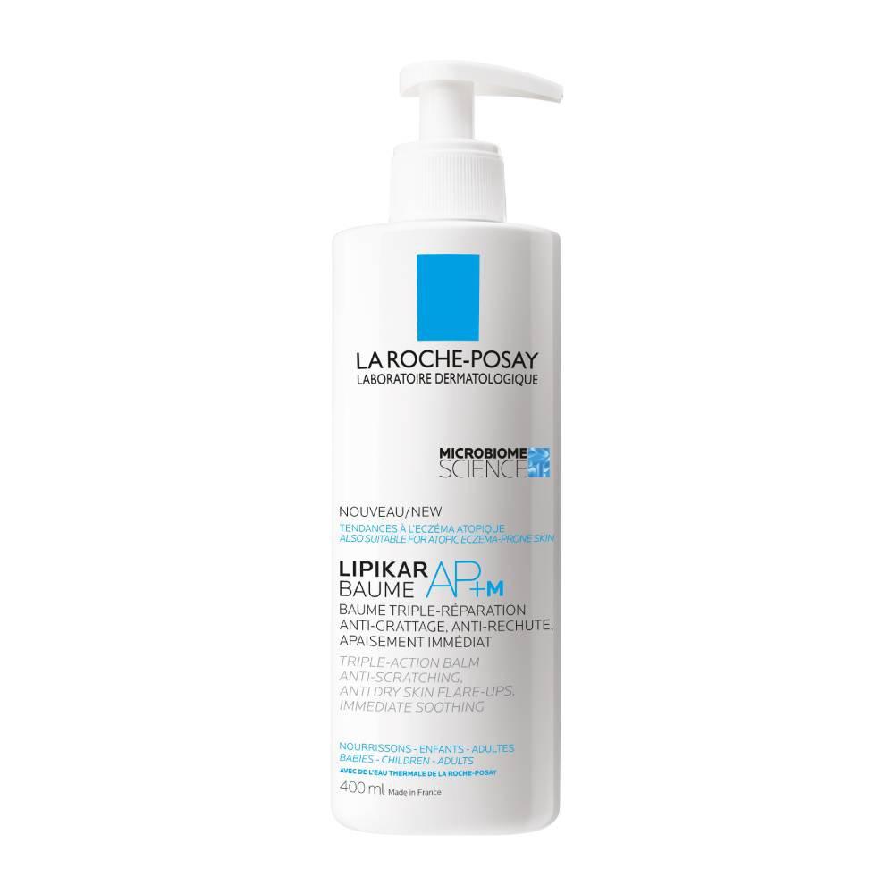 La Roche-Posay Lipikar Baume AP+M Μαλακτικό Βάλσαμο με Τριπλή Δράση Ενάντια στον Κνησμό Ιδανικό για Βρέφη,Παιδιά,Ενήλικες – 400ml