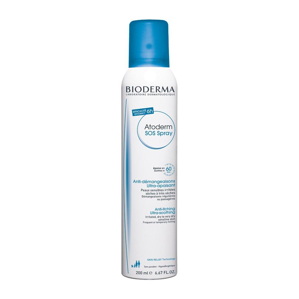 Bioderma Atoderm SOS Spray Η Πρώτη Κίνηση Κατά του Κνησμού για Άμεση Ανακούφιση, Πρόσωπο – Σώμα – 200ml