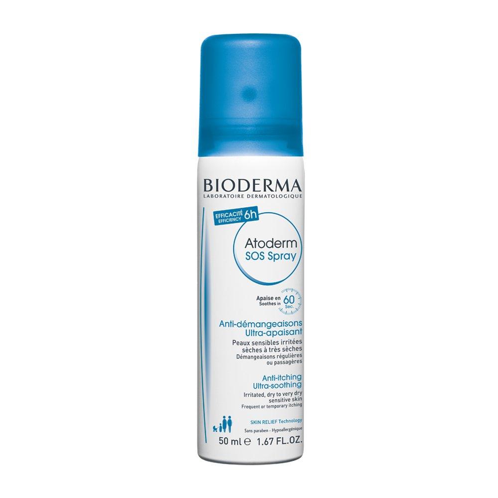 Bioderma Atoderm SOS Spray Η Πρώτη Κίνηση Κατά του Κνησμού για Άμεση Ανακούφιση, Πρόσωπο – Σώμα – 50ml