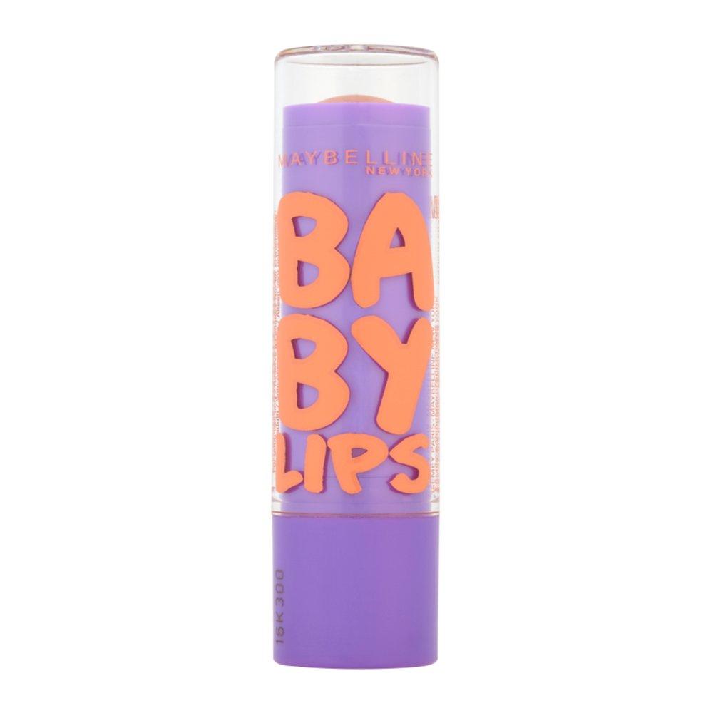 Maybelline Baby Lips Moisturizing Lip Balm Ενυδατικό Lip Balm Προσφέρει Εντατική Θρέψη & 8ωρη Ενυδάτωση στα Χείλη 5ml – Peach Kiss
