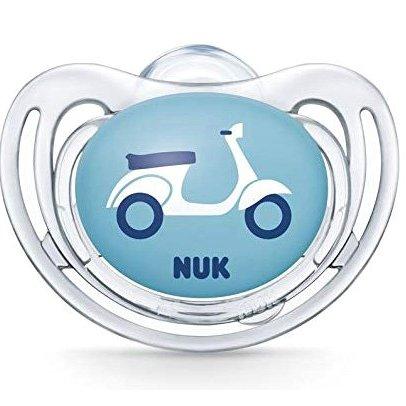 Nuk Freestyle Πιπίλα Σλικόνης – 18-36 Μηνών Διάφανο Αγόρι