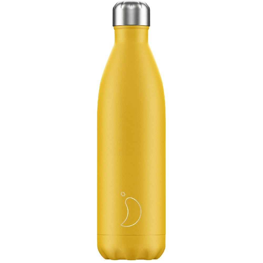 Chilly's Bottle Ανοξείδωτο Θερμός 750ml – Yellow Mat