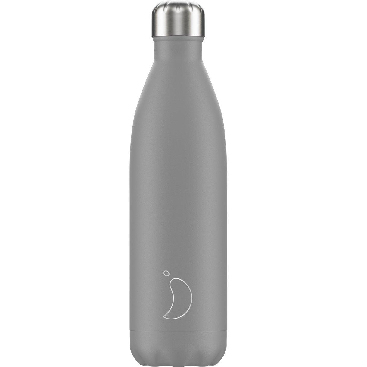 Chilly's Bottle Ανοξείδωτο Θερμός 750ml – Grey Monochrome