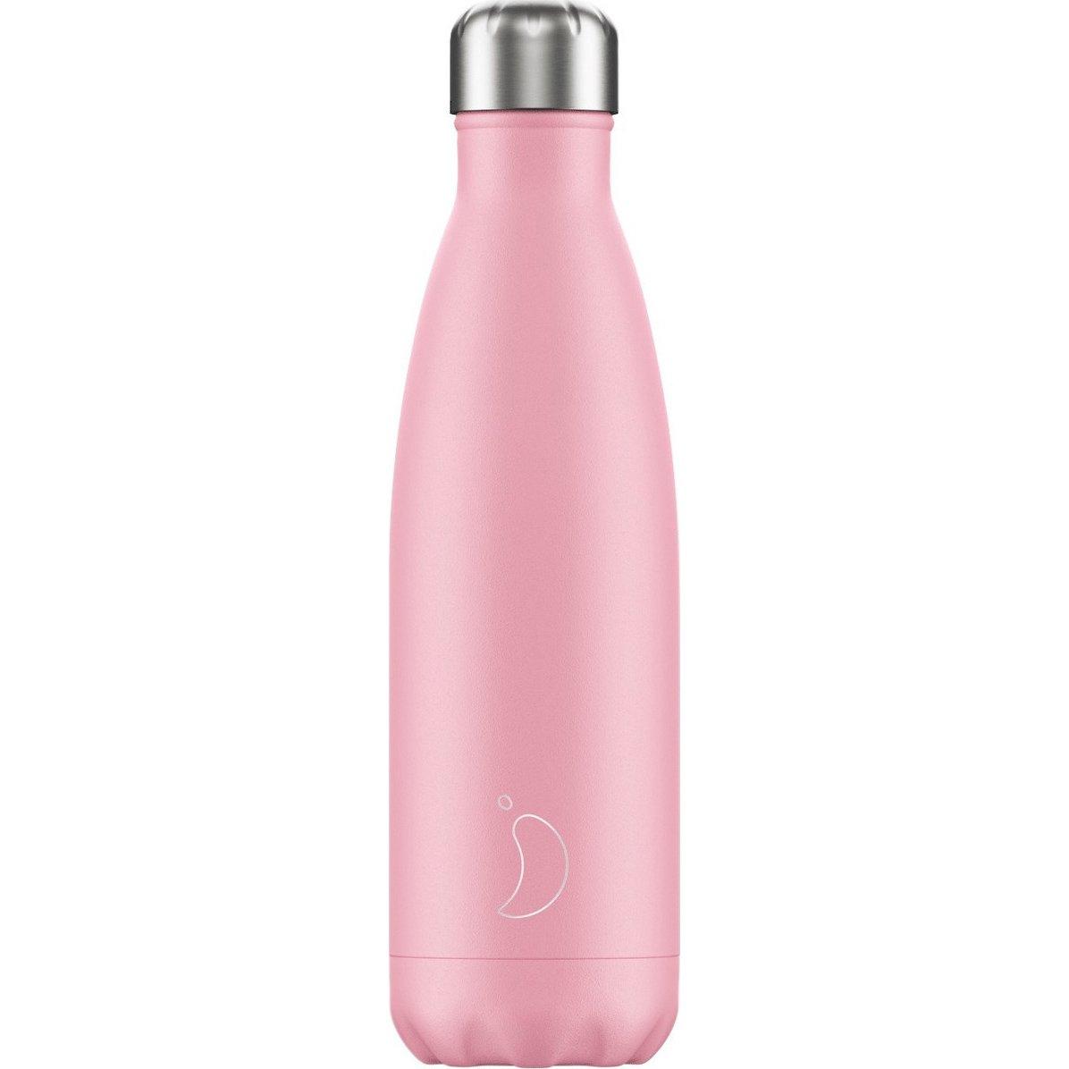 Chilly's Bottle Ανοξείδωτο Θερμός 500ml – Ροζ Παστέλ