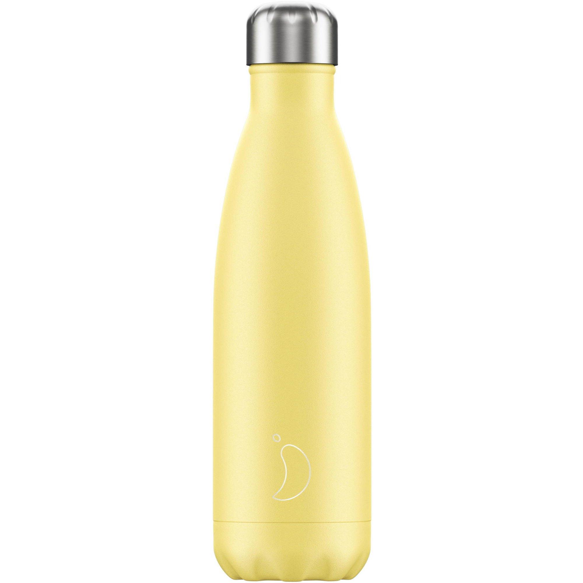Chilly's Bottle Ανοξείδωτο Θερμός 500ml – Κίτρινο Παστέλ