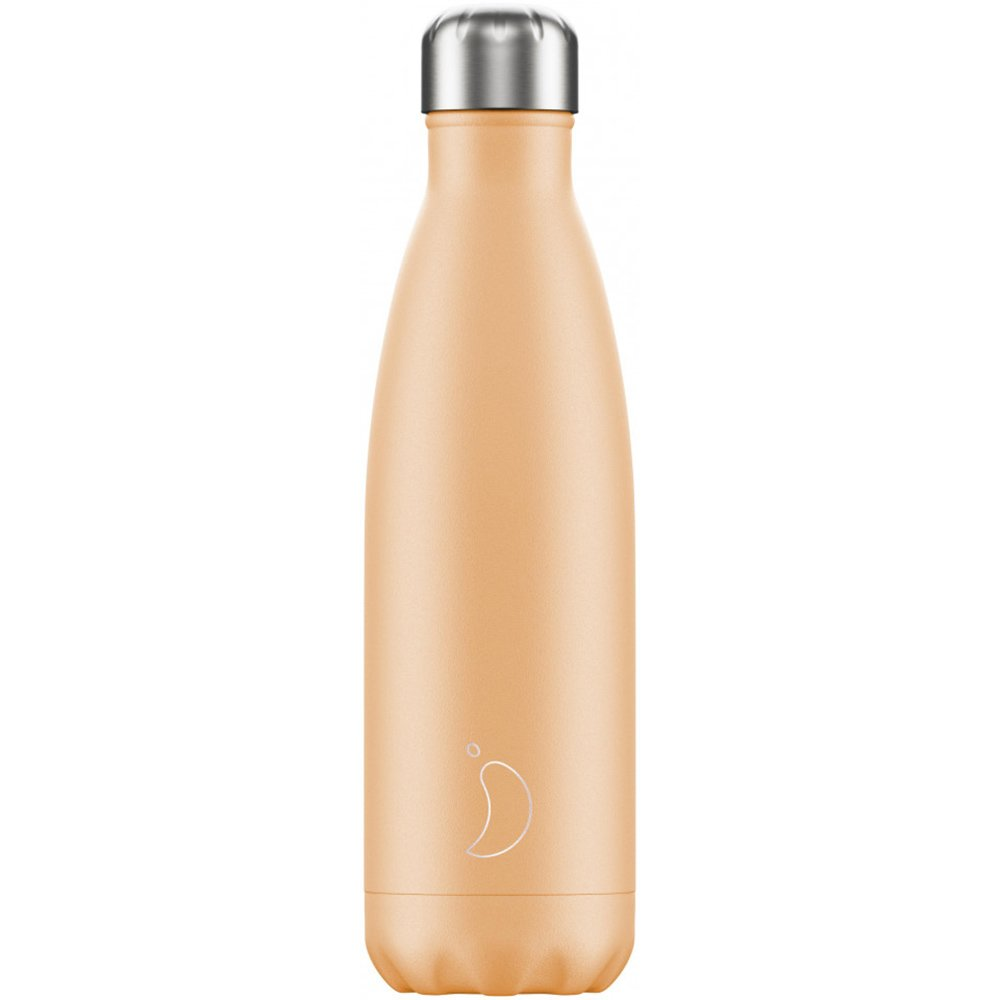 Chilly's Bottle Ανοξείδωτο Θερμός 500ml – Πορτοκαλί Παστέλ