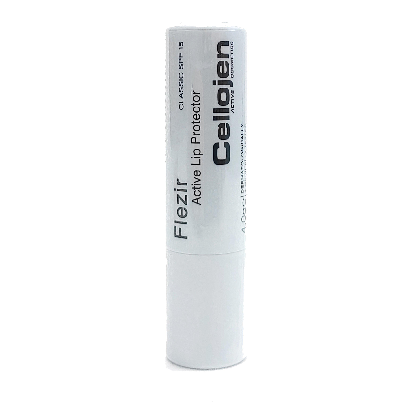 Cellojen Flezir Lip Protector Spf15 Εντατική Προστασία για Κατεστραμμένα, Αφυδατωμένα, Σκασμένα Χείλη 4gr – Classic