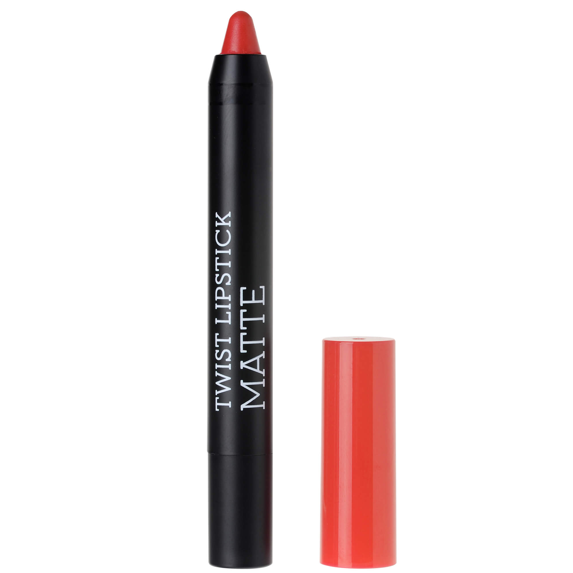 Korres Twist Lipstick Matte, Ultra Mat Αποτέλεσμα, Έντονο Χρώμα, Απόλυτη Άνεση στα Χείλη 1.5gr – Tempting Coral