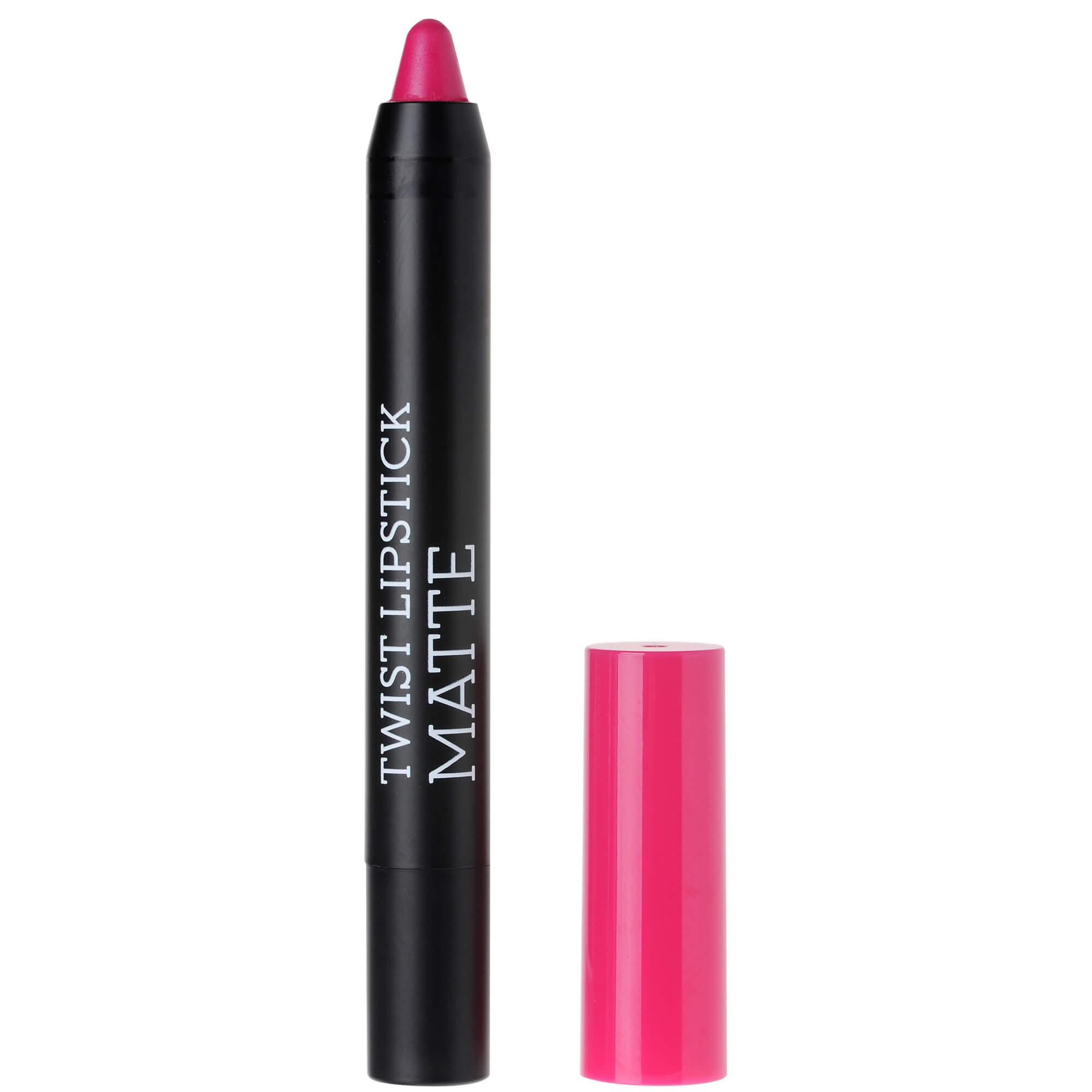 Korres Twist Lipstick Matte, Ultra Mat Αποτέλεσμα, Έντονο Χρώμα, Απόλυτη Άνεση στα Χείλη 1.5gr – Dazzling Fuchsia