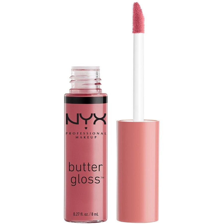Nyx Lip Butter Gloss Βελούδινα Απαλό και Μεταξένιο 8ml – Angel Food Cake