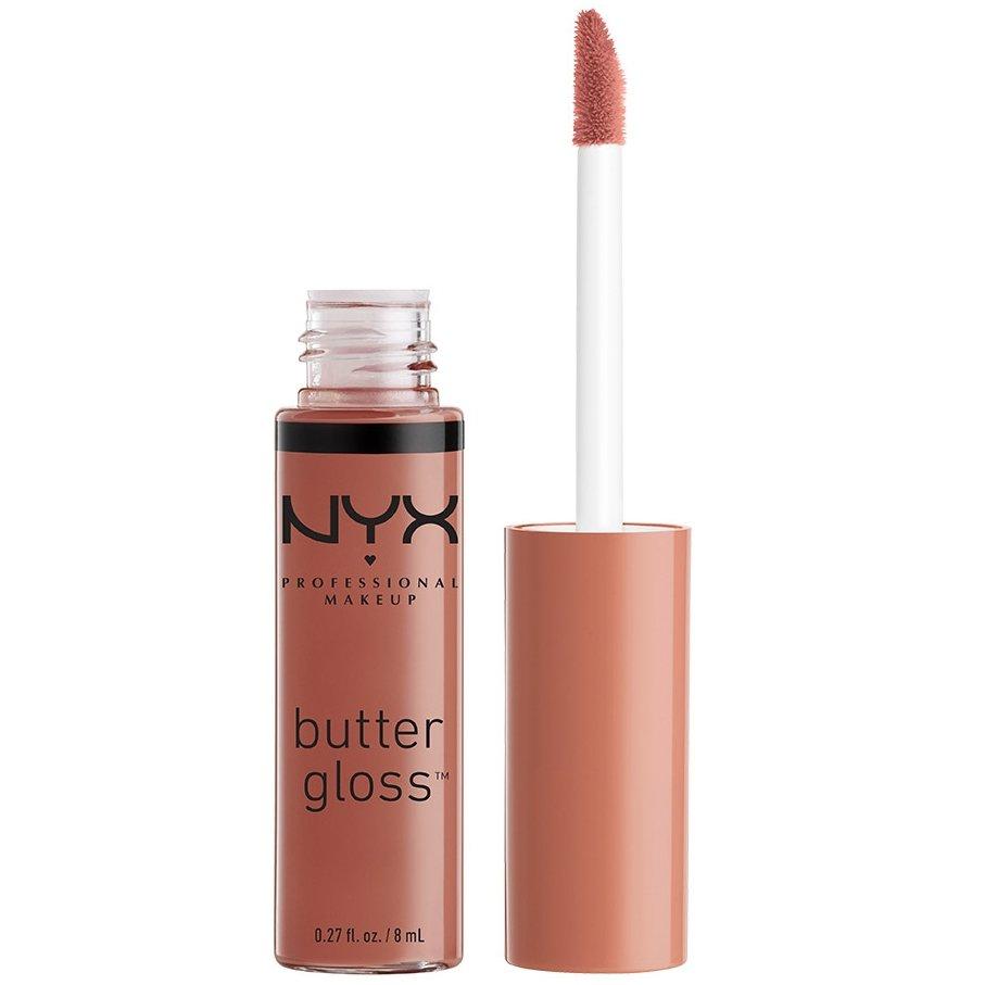 Nyx Lip Butter Gloss Βελούδινα Απαλό και Μεταξένιο 8ml – Praline