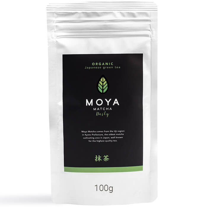 Moya Matcha DailyΟργανικό Γιαπωνέζικο Πράσινο Τσάι - 100g φαρμακείο   φυσικά προϊόντα   τσάι