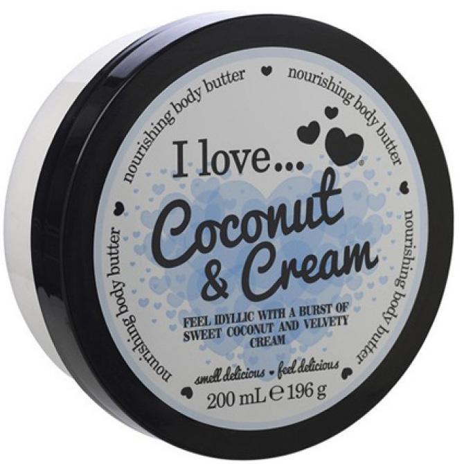 I love… Nourishing Body Butter Θρεπτικό Βούτυρο Σώματος 200ml – Coconut & Cream