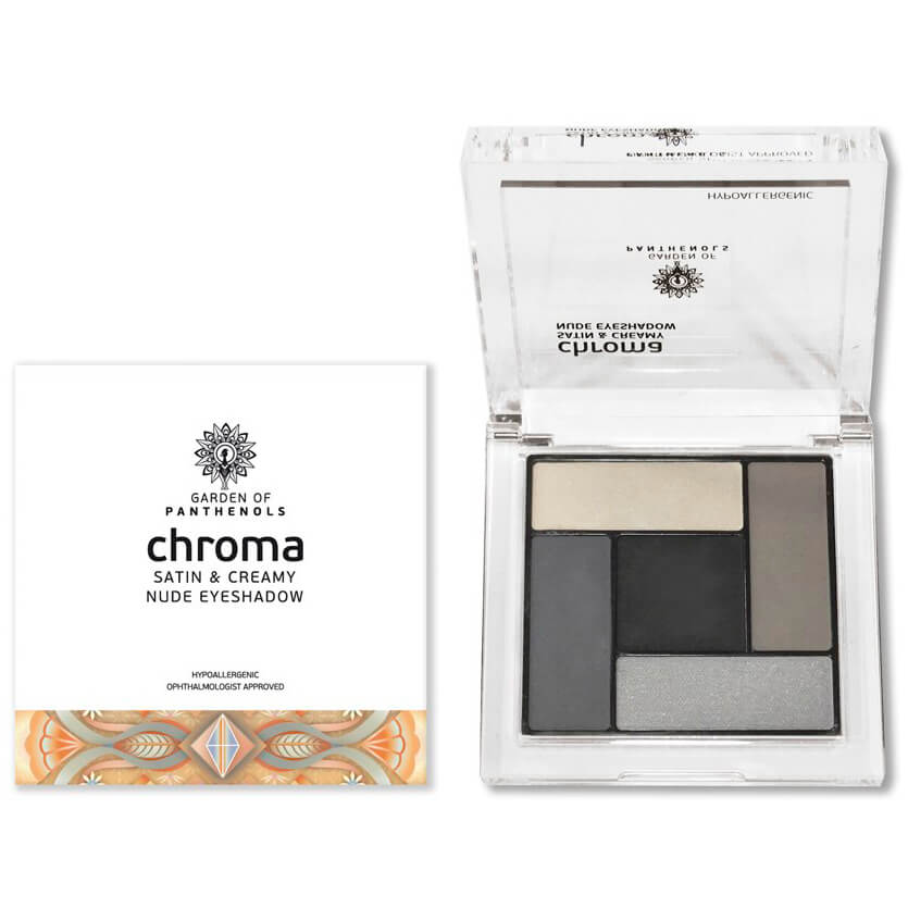 Garden of Panthenols Chroma Satin & Creamy Eyeshadow Απαλές, Μεταξένιες Σκιές 6gr – 2