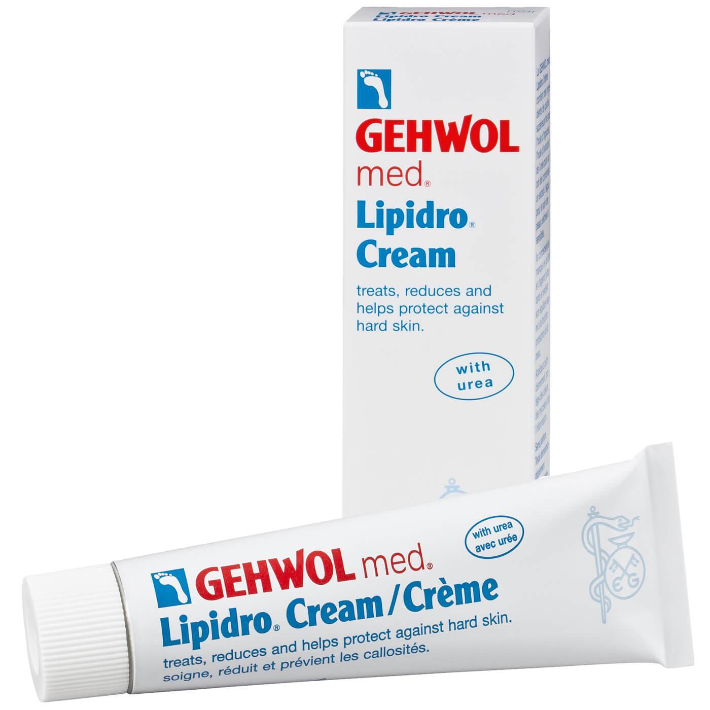 Gehwol Med Lipidro Cream Υδρολιπιδική Κρέμα για Πλούσια Ενυδάτωση – 125ml