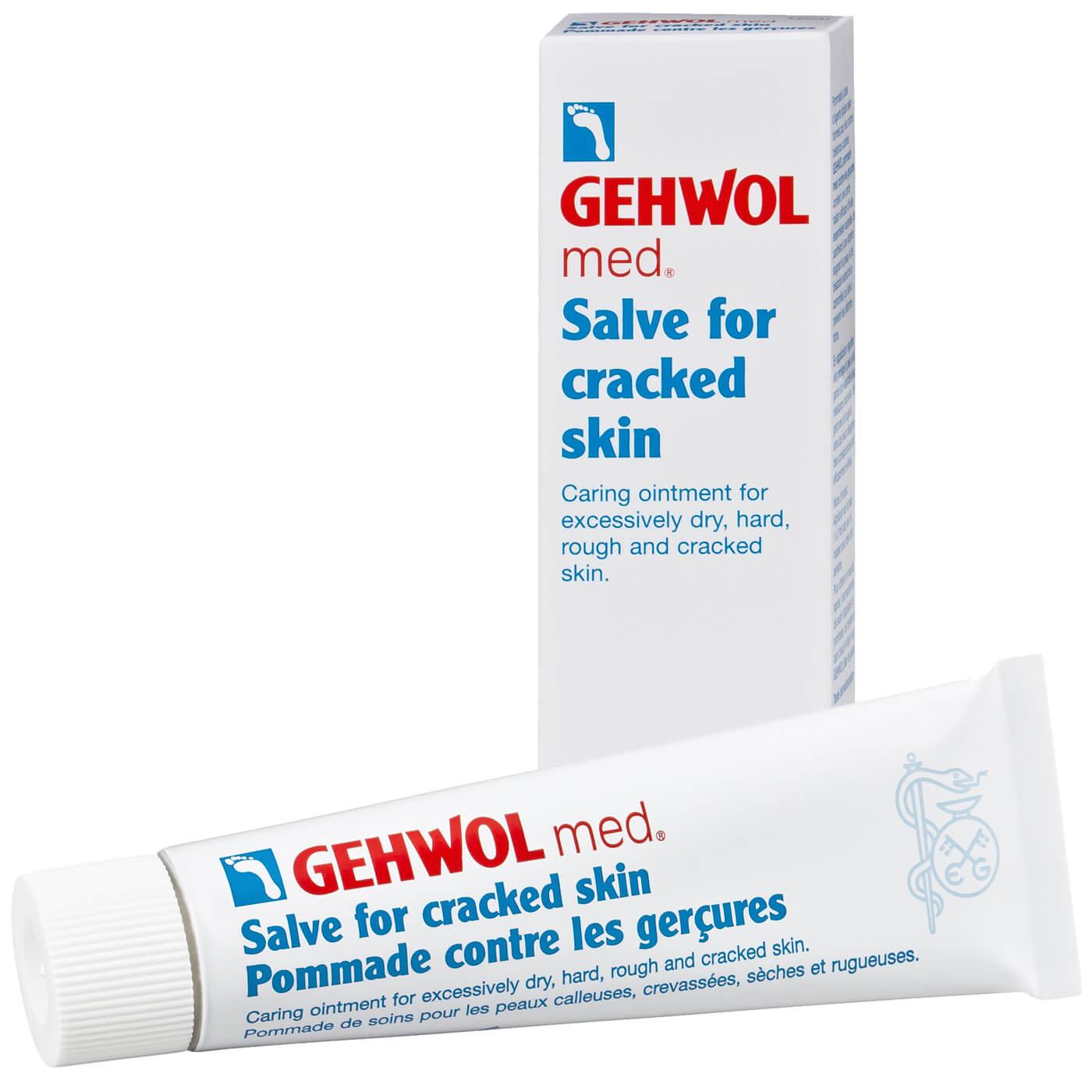 Gehwol Med Salve Αλοιφή για Σκασίματα – 75ml