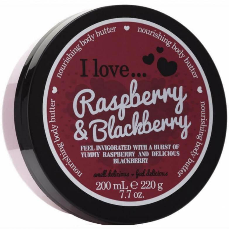 I love… Nourishing Body Butter Θρεπτικό Βούτυρο Σώματος200ml – Raspberry & Blackberry