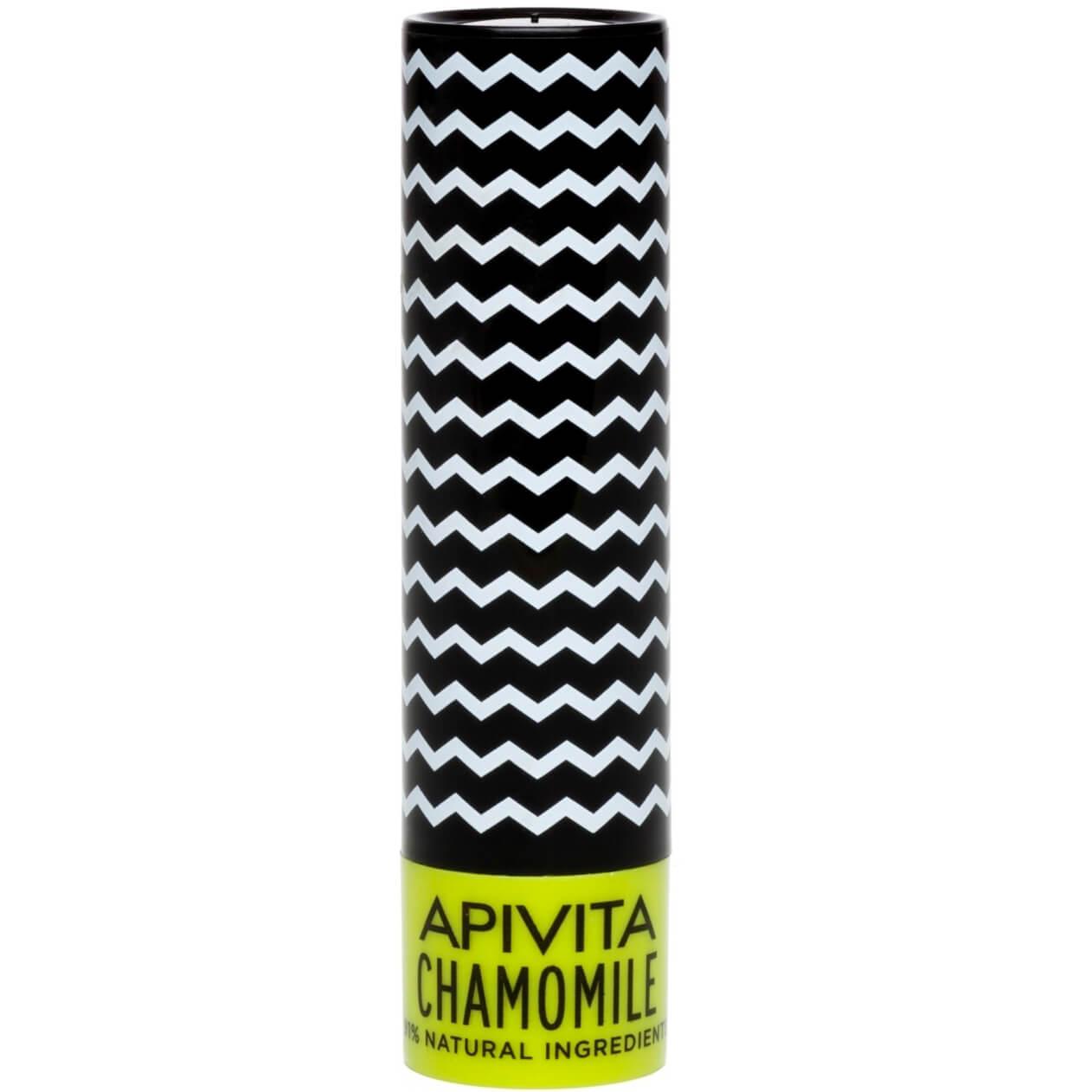 Apivita Lip Care Ενυδατικά Lip Balm Χειλιών 4.4g – Chamomile
