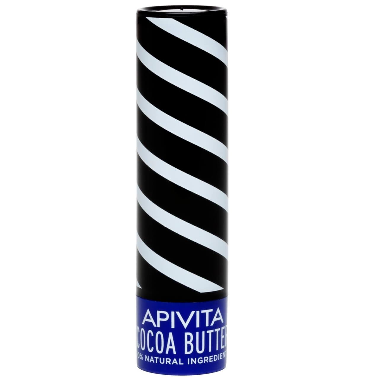 Apivita Lip Care Ενυδατικά Lip Balm Χειλιών 4.4g – Cocoa Butter