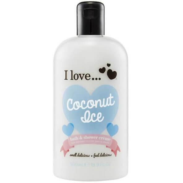 I love… Bath & Shower Creme Ενυδατικό Αφρόλουτρο 500ml – Coconut Ice