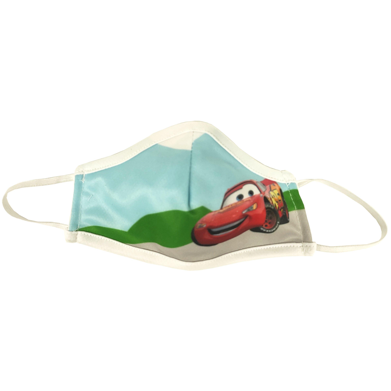 Μάσκα Προστασίας Προσώπου Υφασμάτινη Πολλαπλών Χρήσεων για Παιδιά 1 Τεμάχιο – Cars
