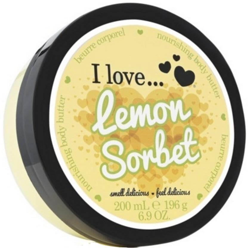 I love… Nourishing Body Butter Θρεπτικό Βούτυρο Σώματος200ml – Lemon Sorbet