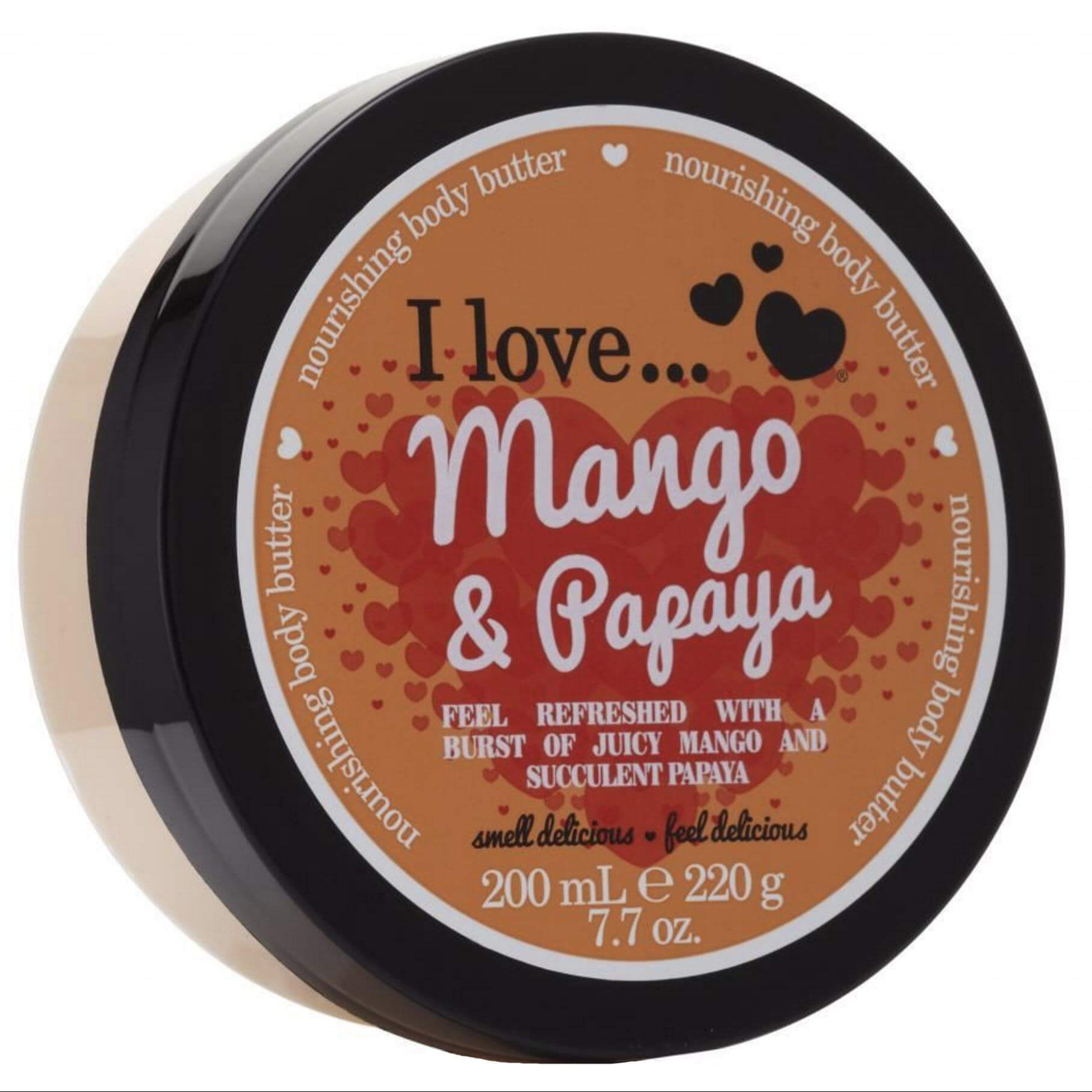 I love… Nourishing Body Butter Θρεπτικό Βούτυρο Σώματος200ml – Mango & Papaya