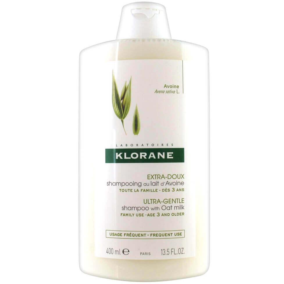 Klorane Extra-Doux Shampooing au Lait dAvoine Σαμπουάν με Βρώμη γιαΈξτρα Απαλότητα & Προστασία – 400ml