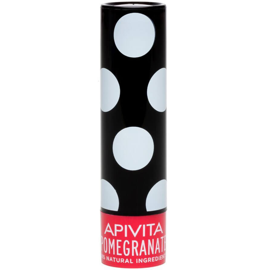 Apivita Lip Care Ενυδατικά Lip Balm Χειλιών 4.4g – Pomegranate