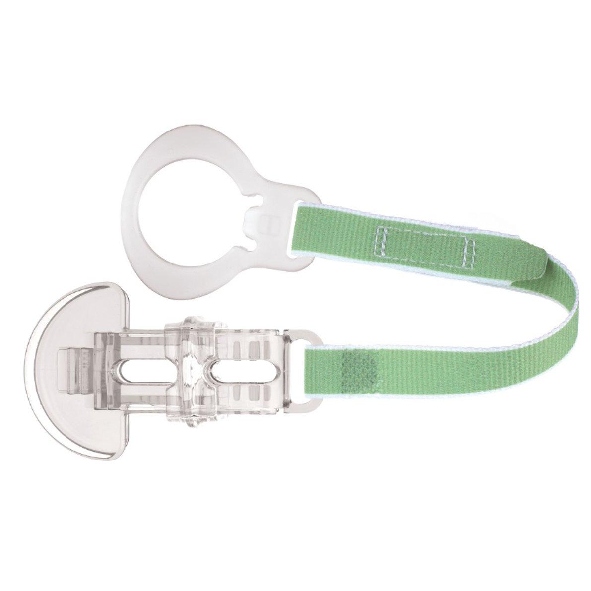 Mam Clip Κωδ 310 Κορδέλα Στήριξης Πιπίλας, από 0+ Μηνών 1 Τεμάχιο – πράσινο