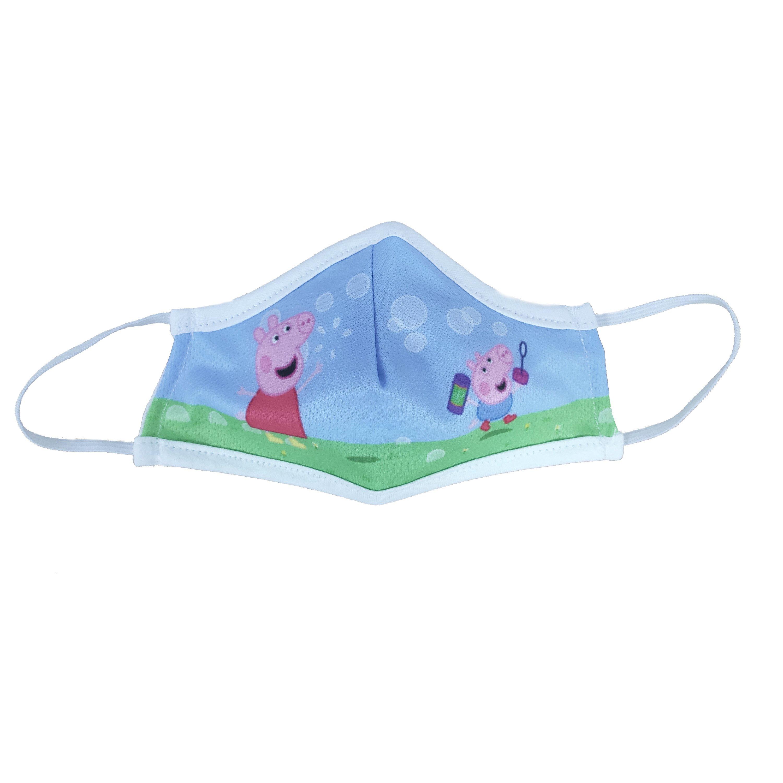 Μάσκα Προστασίας Προσώπου Υφασμάτινη Πολλαπλών Χρήσεων για Παιδιά 1 Τεμάχιο – Peppa 194