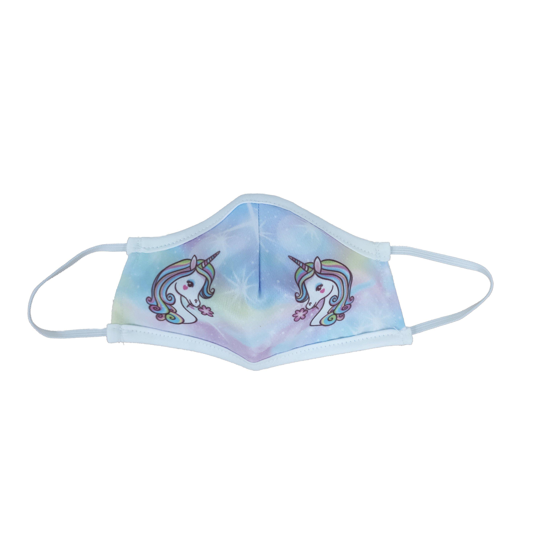 Μάσκα Προστασίας Προσώπου Υφασμάτινη Πολλαπλών Χρήσεων για Παιδιά 1 Τεμάχιο – Unicorn 179