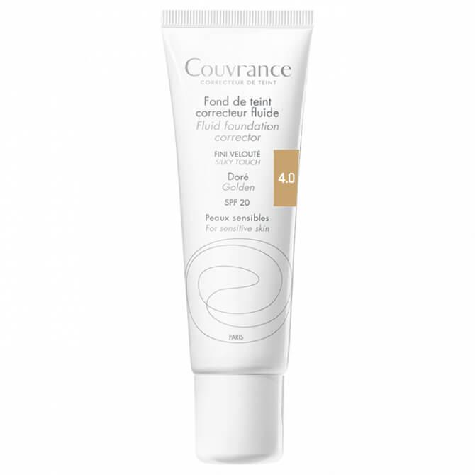 Avene Couvrance Fond te Teint Correcteur Fluide Spf 20 Υγρό Διορθωτικό Make-up30ml – Miel (4.0)