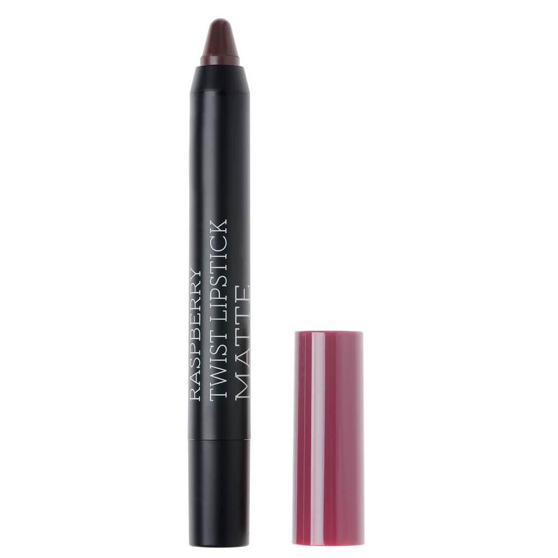 Korres Twist Lipstick Matte, Ultra Mat Αποτέλεσμα, Έντονο Χρώμα, Απόλυτη Άνεση στα Χείλη 1.5gr – Daring Plum