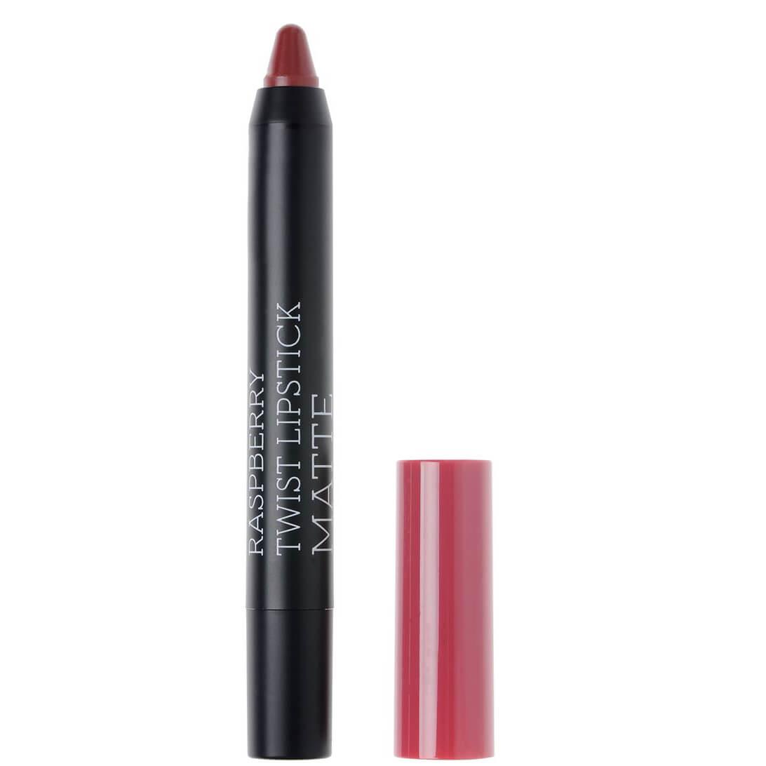 Korres Twist Lipstick Matte, Ultra Mat Αποτέλεσμα, Έντονο Χρώμα, Απόλυτη Άνεση στα Χείλη 1.5gr – Addictive Berry