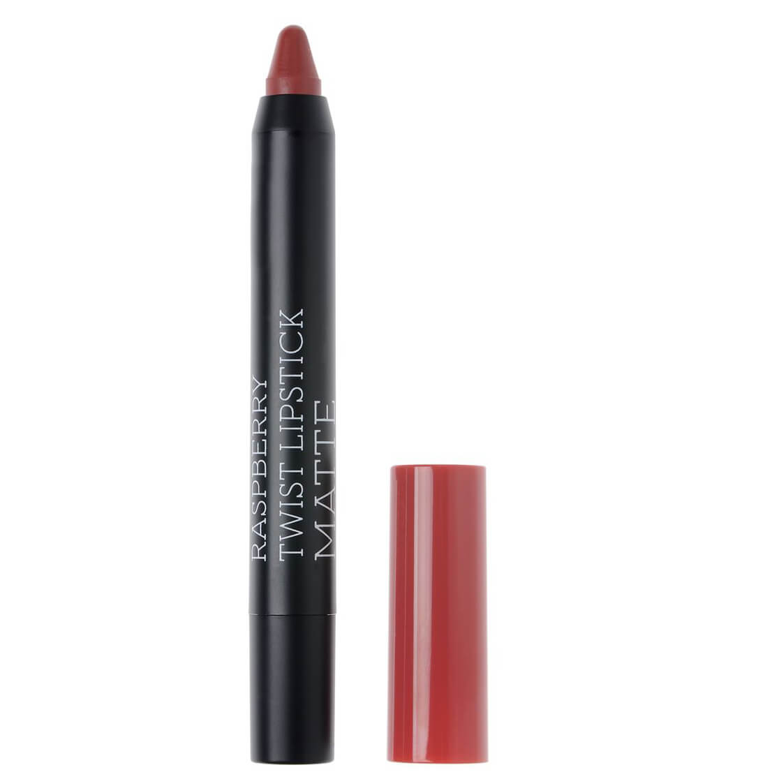 Korres Twist Lipstick Matte, Ultra Mat Αποτέλεσμα, Έντονο Χρώμα, Απόλυτη Άνεση στα Χείλη 1.5gr – Ruby Red