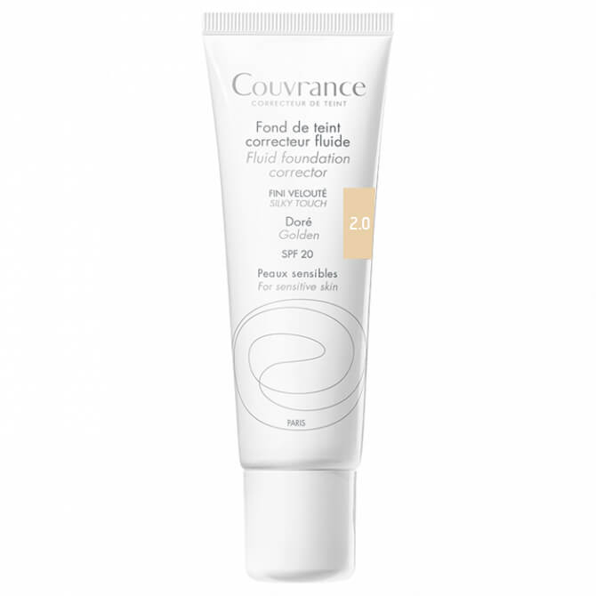Avene Couvrance Fond te Teint Correcteur Fluide Spf 20 Υγρό Διορθωτικό Make-up30ml – Naturel (2.0)