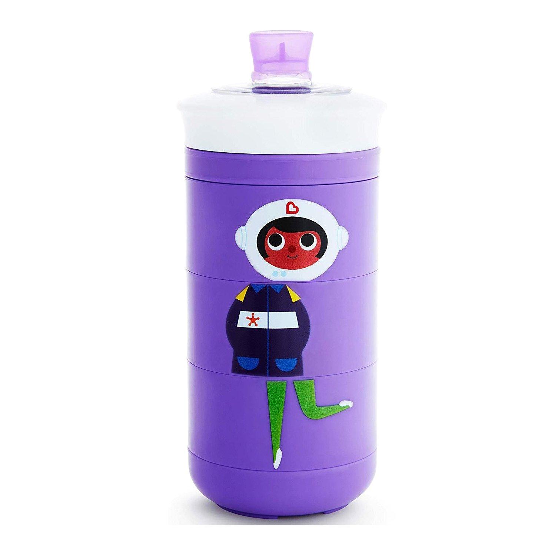 Munchkin Twisty Mix & Match Bite-Proof Sippy Cup Ποτήρι Για Βρέφη & Παιδιά 266ml – μωβ