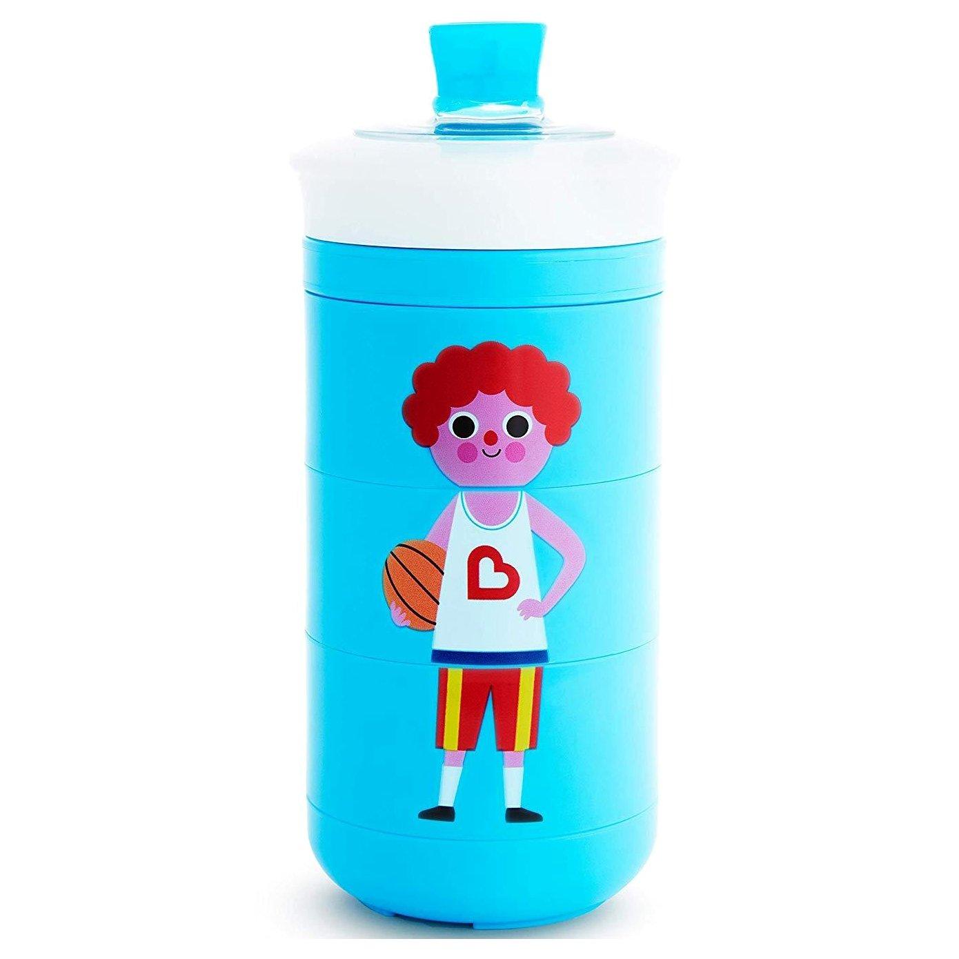 Munchkin Twisty Mix & Match Bite-Proof Sippy Cup Ποτήρι Για Βρέφη & Παιδιά 266ml – γαλάζιο