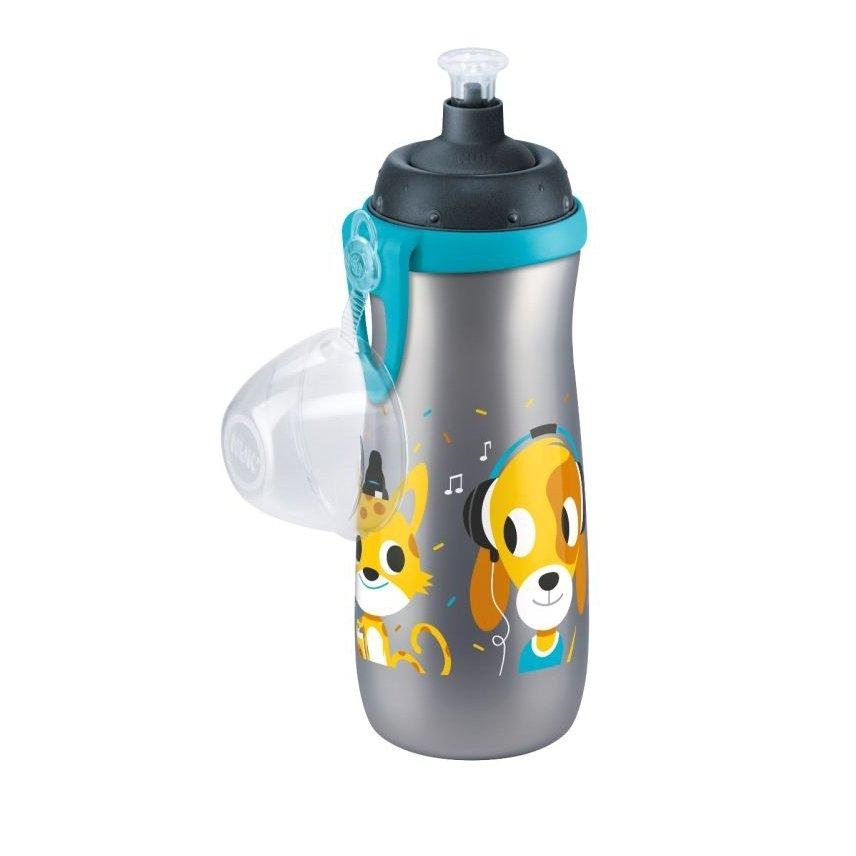 Nuk Sports CupΠαγουράκι Πολυπροπυλενίου BPA Free 450ml – γκρι