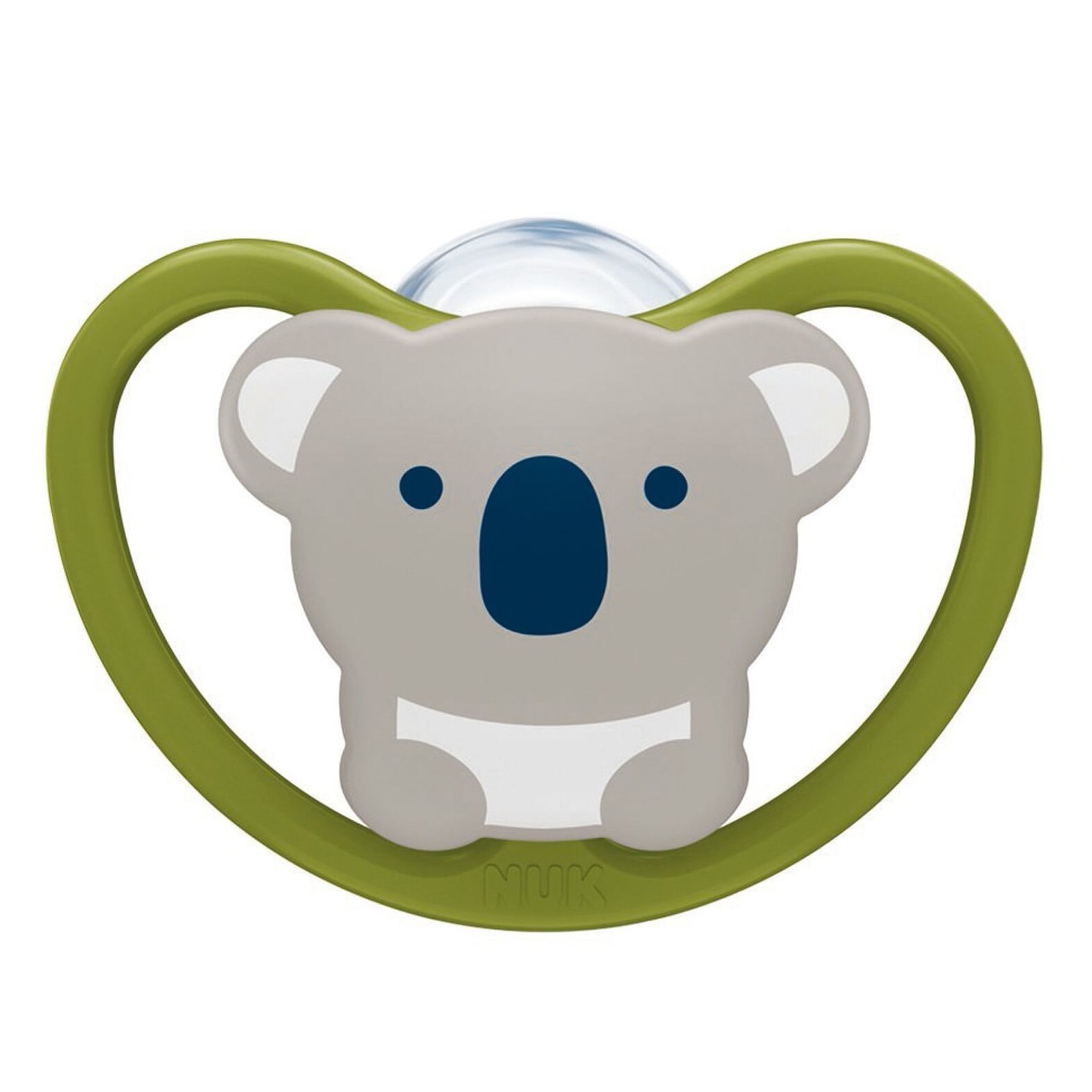 Nuk Space Πιπίλα Σιλικόνης με Πρωτοποριακό Σχεδιασμό που Επιτρέπει στην Ευαίσθητη Βρεφική Επιδερμίδα να Αναπνέει 1 Τεμάχιο – 0-6 Μηνών Πράσινη